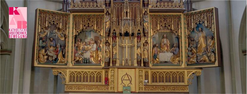 Altar der Kath. Gemeinde St. Peter und Paul, Herne
